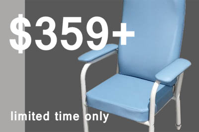 High-back patient chair - special price