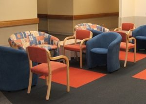 Regional Hospital Waiting Area