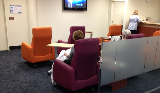 Recliners for Day Unit recovery area