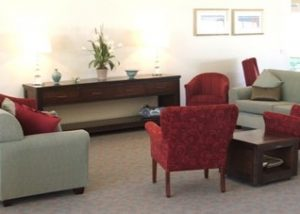 Aged Care Lounge Area