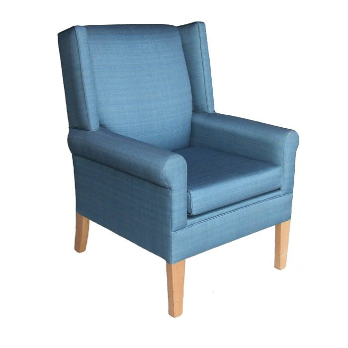 Comfy Club Wingback Chair