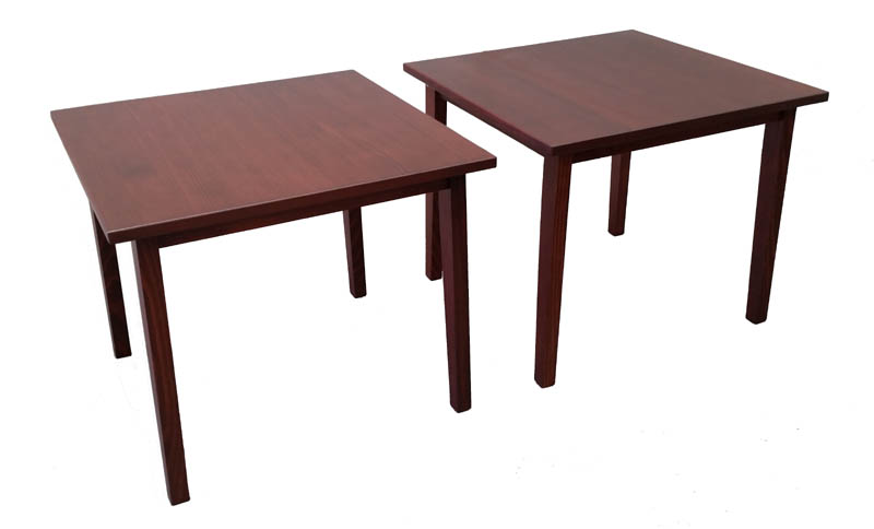 Solid timber extendable tables