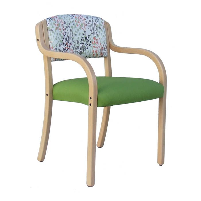 Converse low-back diningchair