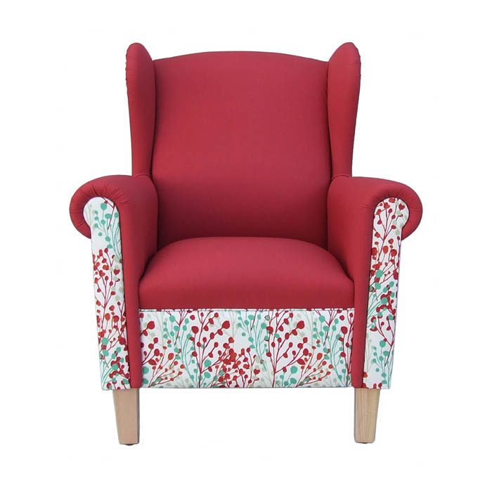 Edward wingback armchair