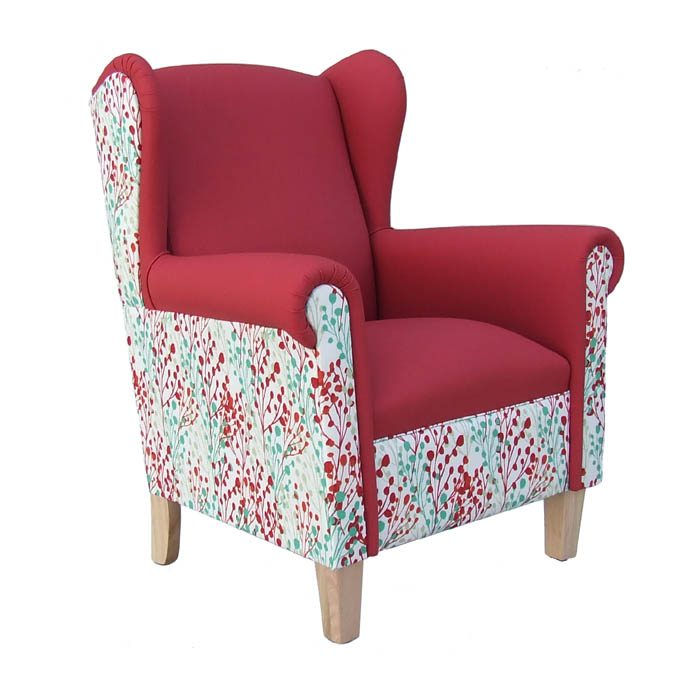 Comfortable 'Edward' wingback armchair